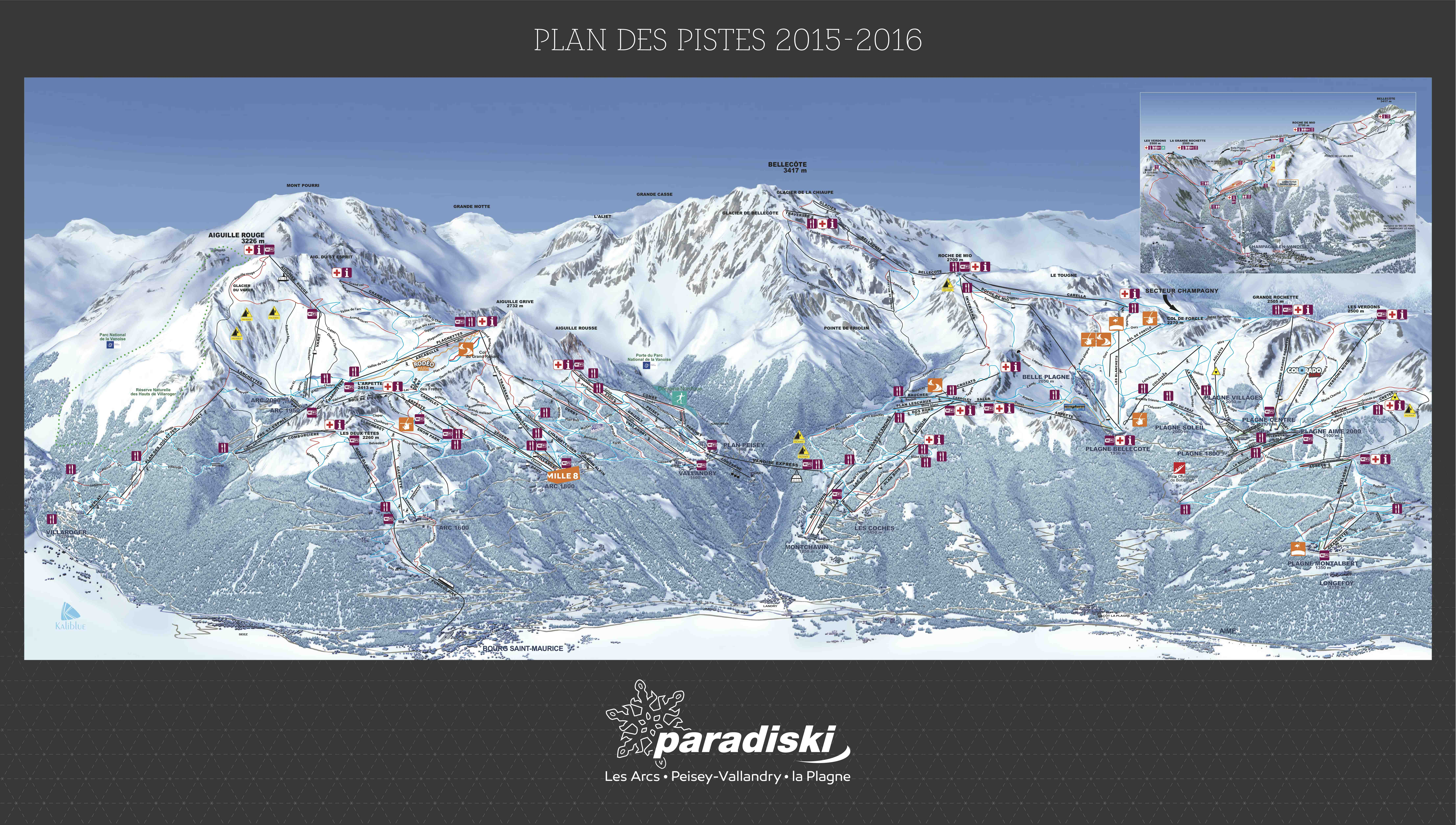 Information about Les Coches French Alps Arctis